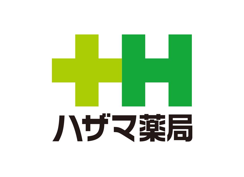 ハザマ薬局ロゴ