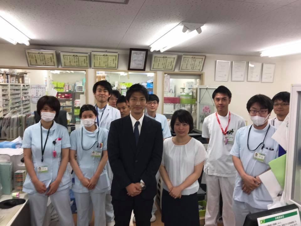 茨城県のフローラ薬局様薬局見学
